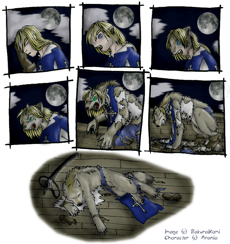 Female Werewolf Transformation Comic | www.imgkid.com ...
