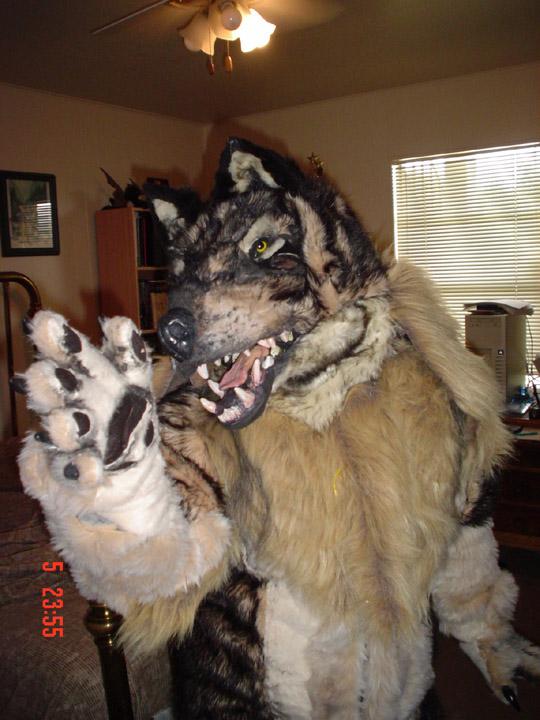 Realistic werewolf costume - photo#13